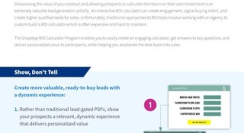 Programs: ROI Calculator Overview