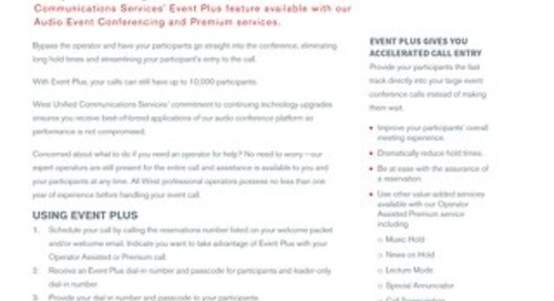 Event Plus Overview