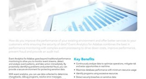 Facts about Event Analytics for Adabas