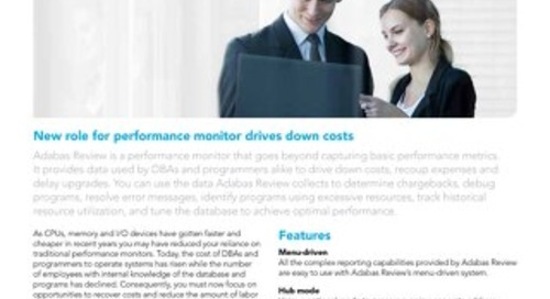 Adabas Review Performance Monitor