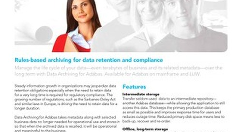 Facts about Data Archiving for Adabas