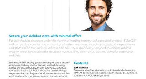 About Adabas SAF Security