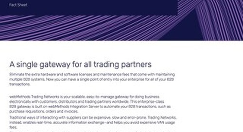 Get the facts about Trading Networks