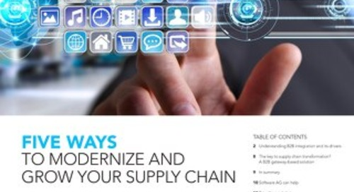 5 ways to modernize your supply chain