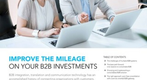 Get more from your B2B investments