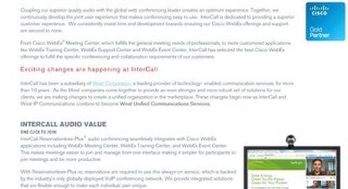 Cisco WebEx West Partnership