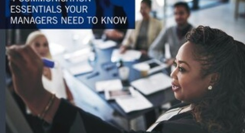 4 Essential Skills Your New Managers Need to Know