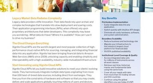 APIs Datasheet