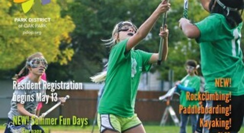 Park District of Oak Park Summer Program Guide 2017