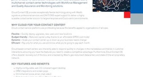 West Cloud Contact CE