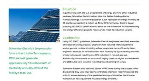 Industrial Manufacturing: Schneider Electric