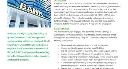 Finance: Regional Bank