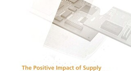 The Positive Impact of Supply Chain Visibility on Design to Cost