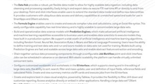 Zilliant IQ Platform: Data Analysis Tools
