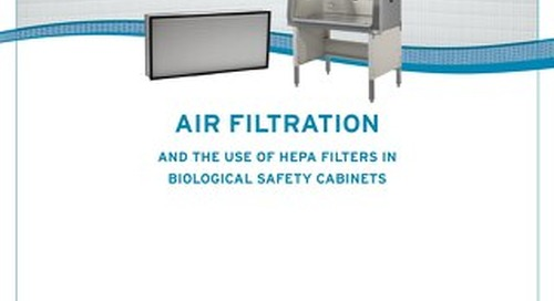 [White Paper] Use of HEPA Filters in Biosafety Cabinets