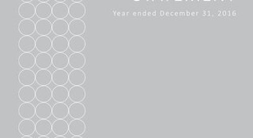 Elite Alliance Disclosure Statement - Year Ending December 31 2