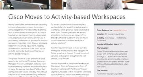 Case Study: Activity Based Workplace with Plantronics