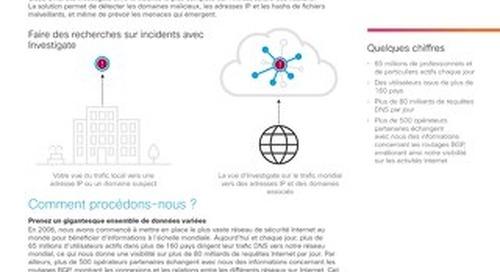 Cisco Umbrella Investigate : des recherches plus poussées que jamais sur les attaques