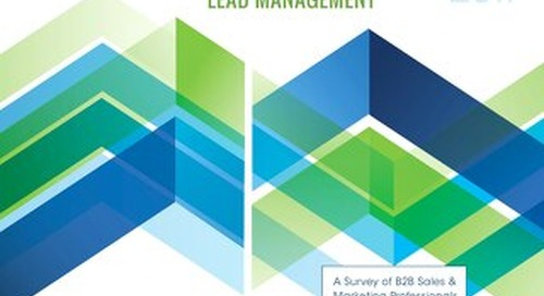 The State of Lead Management
