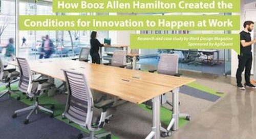 Case Study: Booz Allen Hamilton Innovative Workplace
