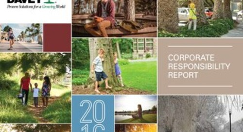 2016 Corporate Responsibility Report