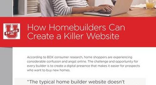 How Homebuilders Can Create A Killer Website