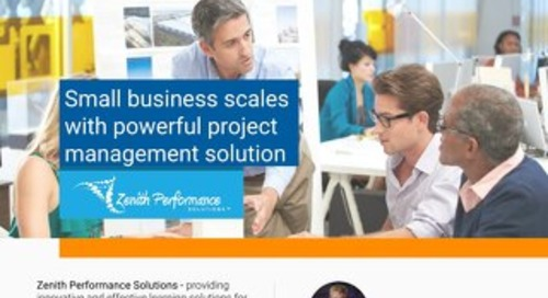 Zenith Performance Solutions Case Study