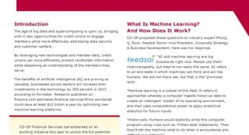 Machine Learning White Paper