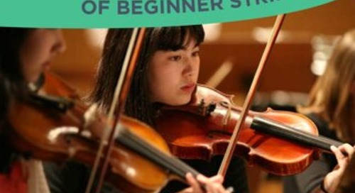 A Year in the Life of Beginner Strings