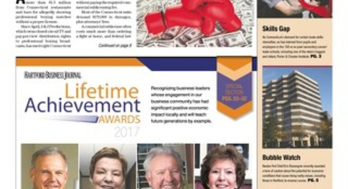 Lifetime Achievement Awards — May 29, 2017