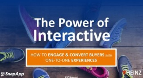 The Power of Interactive: How to Engage and Convert Buyers with One-to-One Experiences