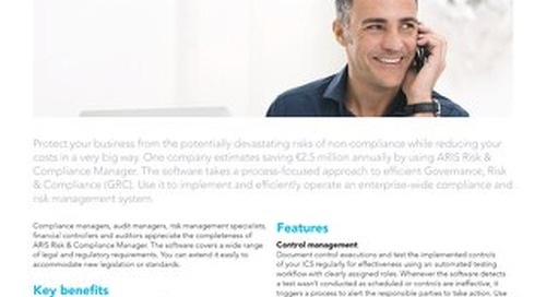 Facts about ARIS Risk & Compliance Manager