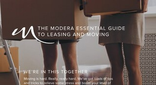 ESSENTIAL GUIDE TO MOVING AND LEASING