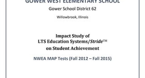 Gower West Elementary School Longitudinal Study