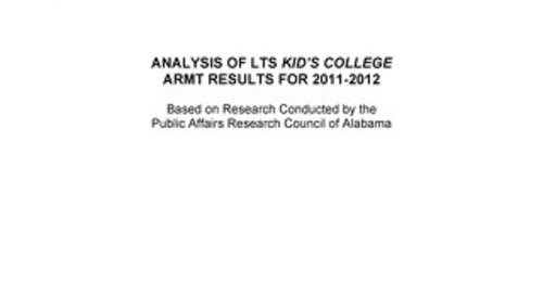 Impact of Kid's College in Alabama