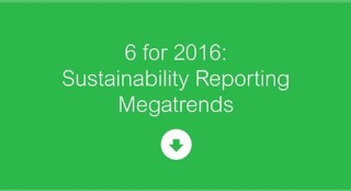 Sustainability Reporting Megratrends