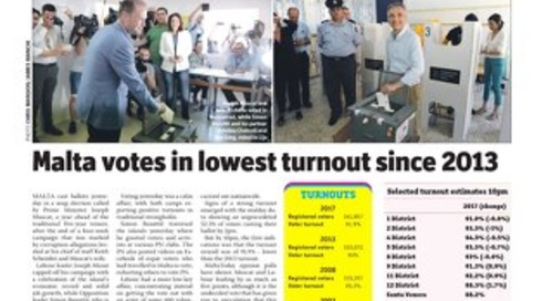 MaltaToday 4 June 2017