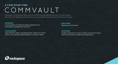 Commvault success in multi cloud environment