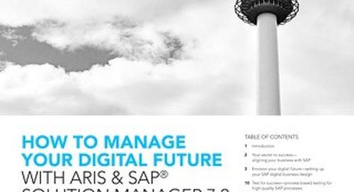 ARIS & SAP® Solution Manager 7.2