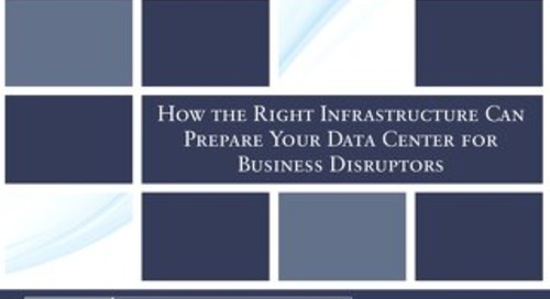 Prepare your datacenter for business disruptors