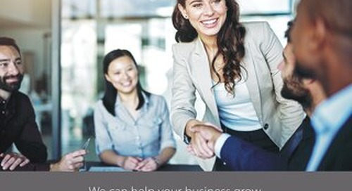 We Can Help Your Business Grow