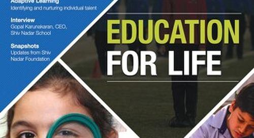 The Foundation Post, Q2, 2017: Shiv Nadar Foundation's newsletter