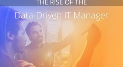 Rise of Data Driven IT Manager