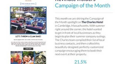 May Campaign of the Month