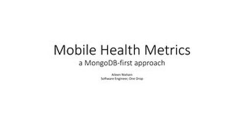 Mobile Health Metrics