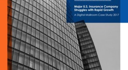 Major U.S. Insurance Company Struggles with Rapid Growth - Case Study