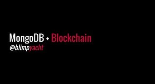 MongoDB + Blockchain