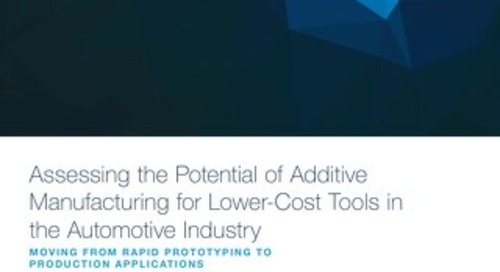Assessing the Potential of Additive Manufacturing Lower-Cost Tools in the Automotive Industry