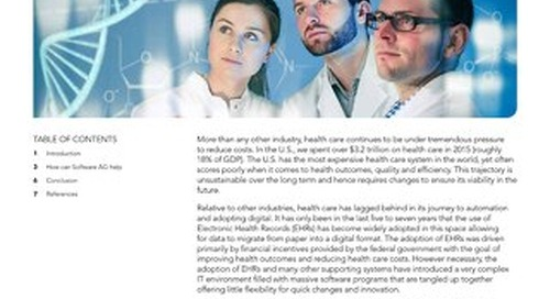 Enabling the Digital Transformation of Health Care
