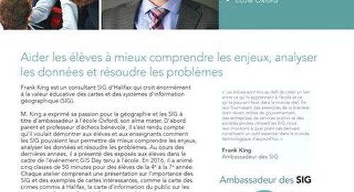 Profil d'un ambassadeur des SIG : Frank King